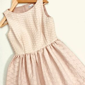 RED Valentino Pink Sleeveless Fit Flare Dress